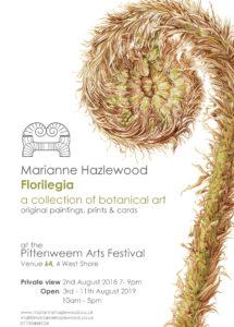 Marianne Hazlewood Pittenween exhibition 2019